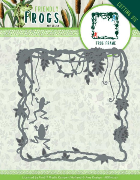 Frog Frame - Friendly Frogs Collection von Amy Design (ADD10227)
