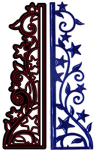 Stanz- und Prägeschablone - Sternenklare Nacht von Crafts-Too