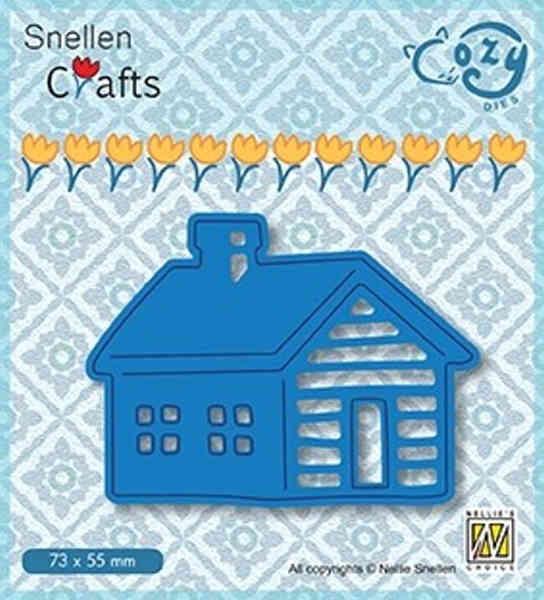 Log Cabin / Blockhütte - Cozy Dies Collection von Nellie´s Choice (SCCOD009)