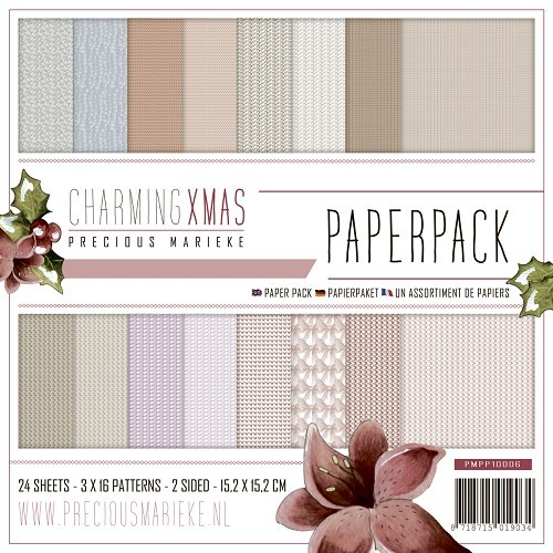 Motivpapier-Set / Scrapbook - Precious Marieke - Charming Xmas
