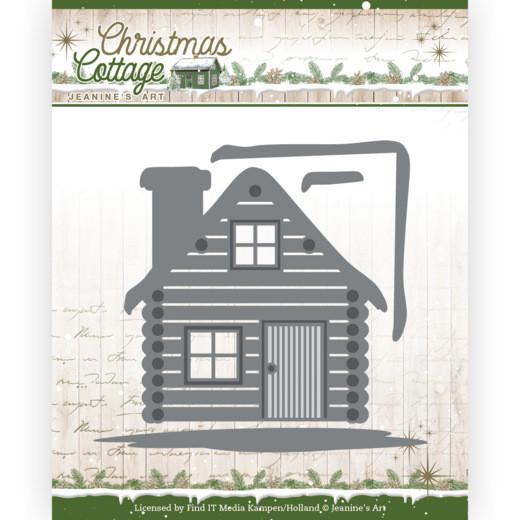 Cottage / Holzhütte - Christmas Cottage Kollektion von Jeanine´s Art (JAD10139)