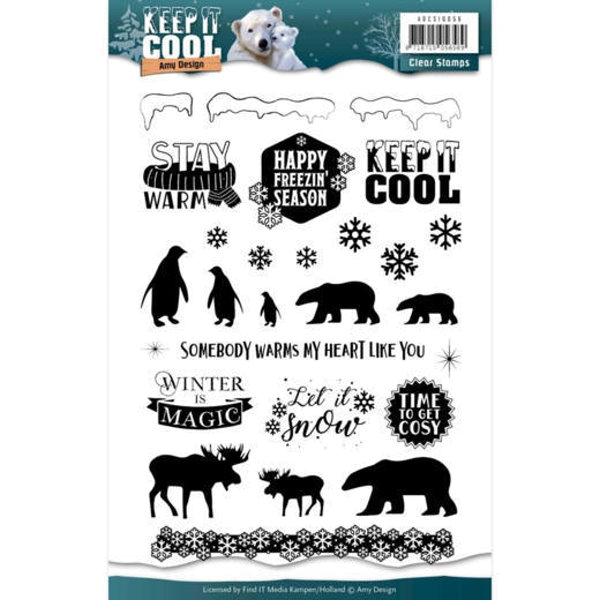 Keep it Cool - Clearstamp / Stempel