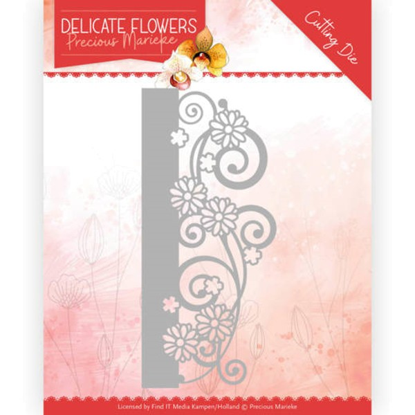 Delicate Border - Delicate Flowers Collection - Stanzschablone