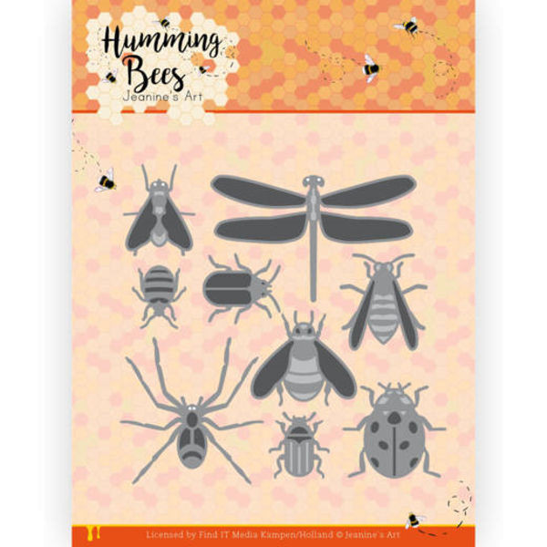 All kinds of Insects / Insekten - Humming Bees Collection von Jeanine´s Art (JAD10127)