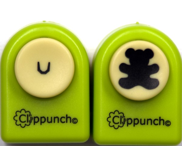 Bär / Teddy - Clippunch - Set CP009