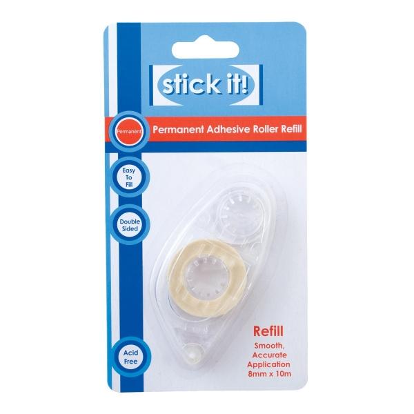 """Nachfüllpackung für: """"Permament"""" - Glue-Tape Dispenser / Klebe-Roller"""