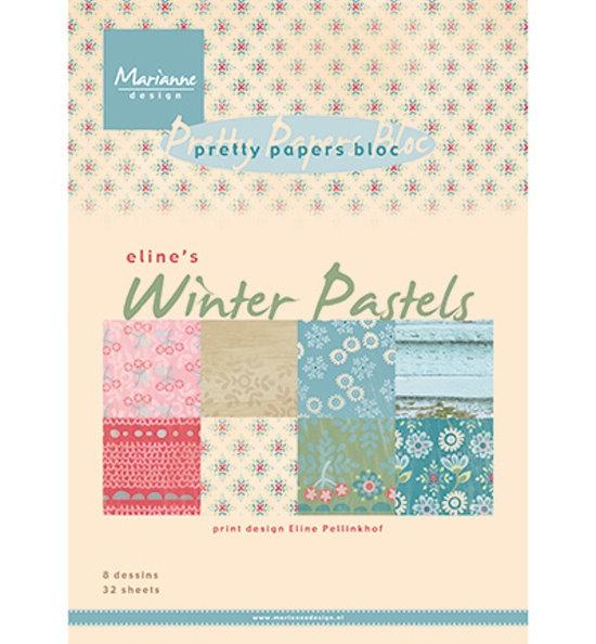 Eline´s Winter Pastels - Design Motivpapier