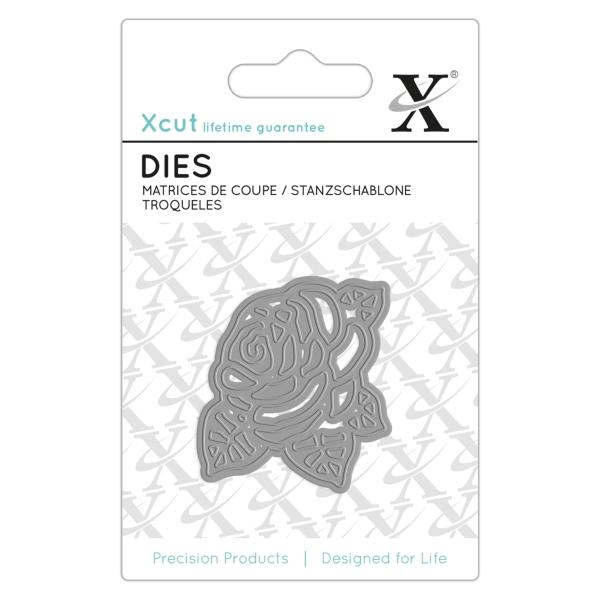 Rose - Stanzschablone - Mini Dies von XCUT