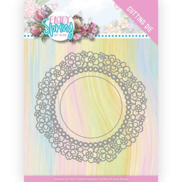 Flower Circle - Enjoy Spring Collection von Amy Design (ADD10238)