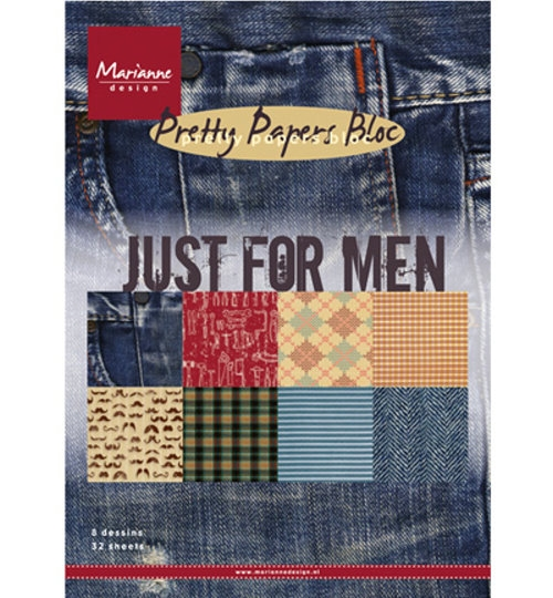 Motivpapier-Set / Scrapbook - Just for Men