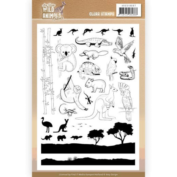 Wild Animals Outback - Stempel - Clearstamp