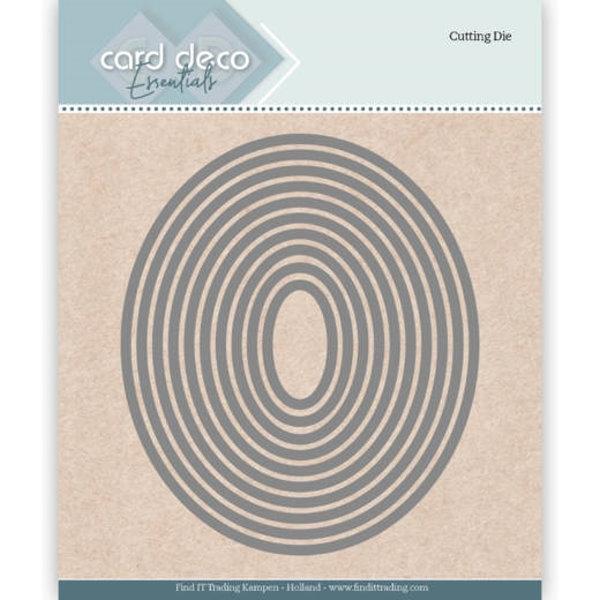 Ellipse (10 Ovale) - Essentials-Stanzschablone
