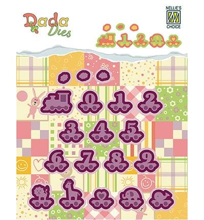 DDD006 - DADA Baby Dies - Alphabet train Numbers