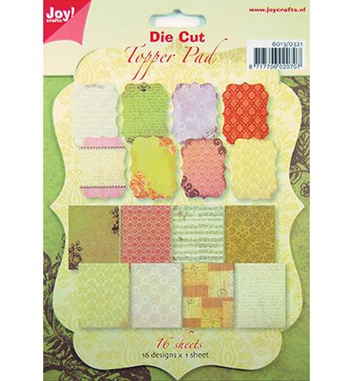 Die Cut Topper Pad / Motivpapier + fertig gestanzte Kartenaufleger