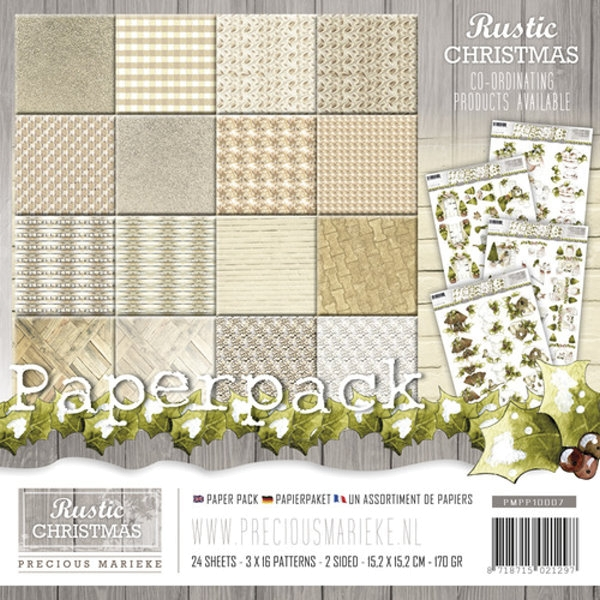 Rustic Christmas - Design Motivpapier