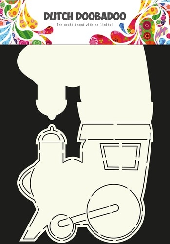 Card Art Schablone - Train / Zug