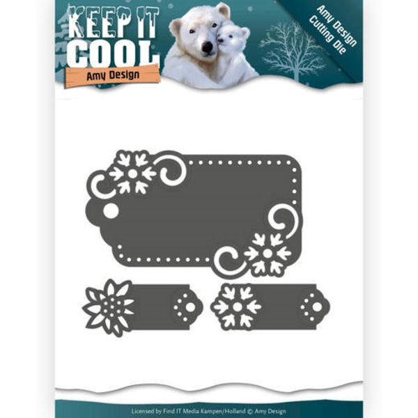 Cool Tags - Keep it Cool - Stanzschablone