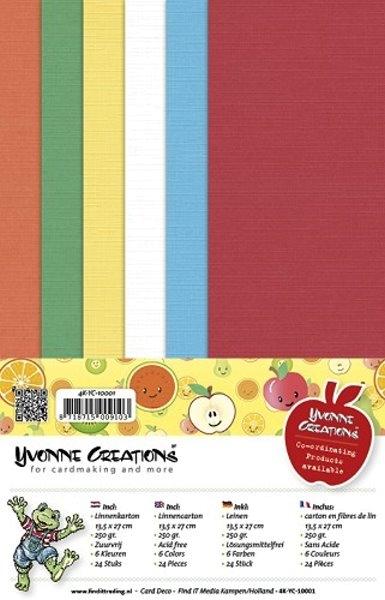 Leinenpapier-Set - Gute Besserung - Yvonne Creations