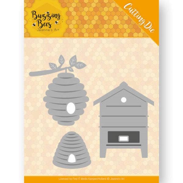 Bienenstöcke / Beehives - Stanzschablone