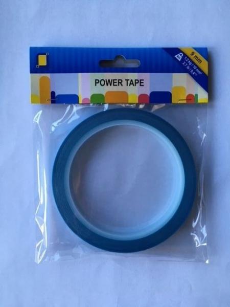 Power Tape - 9 mm x 10 m Doppelseitiges, Ultrastarkes Klebeband