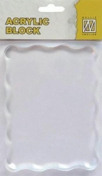 Acryl - Stempelblock 70 x 90 x 8 mm von Nellie´s Choice (AB006)