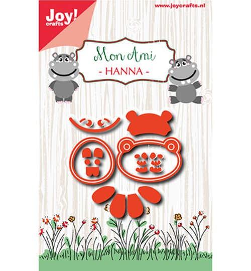 Mon Ami - Hanna - Stanzschablone von Joy!Crafts (6002/1039)