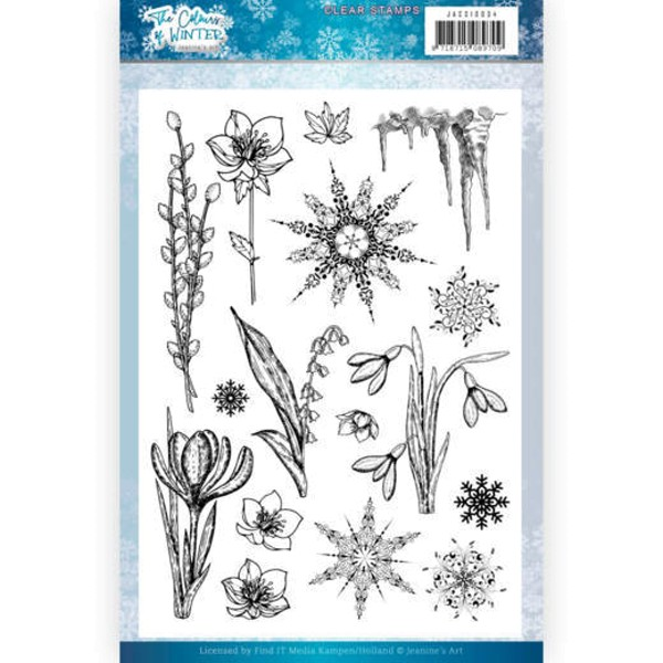 The Colours of Winter- Stempel / Clearstamp