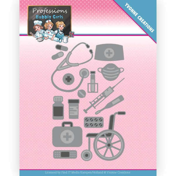 Healthcare - Bubbly Girls - Professions Collection von Yvonne Creations (YCD10235)
