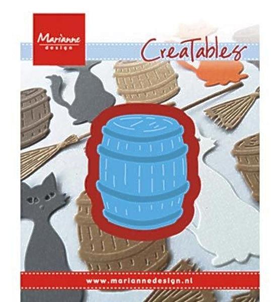 Barrel / Fass - Stanzschablone von Marianne Design (LR0434)