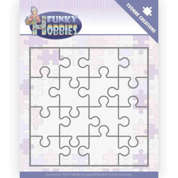 Puzzle - Funky Hobbies - Stanzschablone