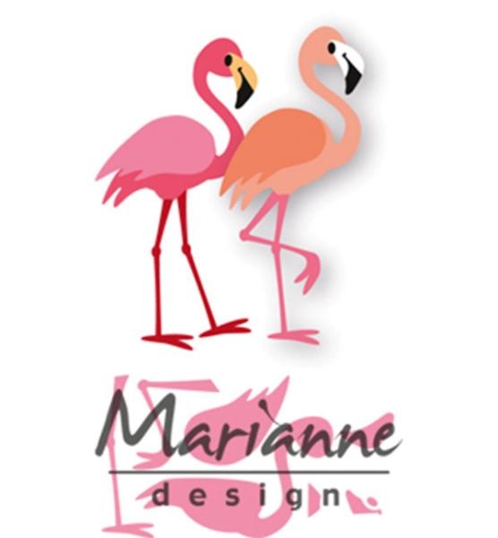 Eline´s Flamingo - Stanzschablone