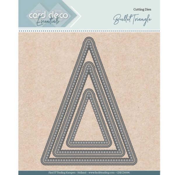 Bullet Triangle - Nesting Dies von Card Deco (CDECD0096)