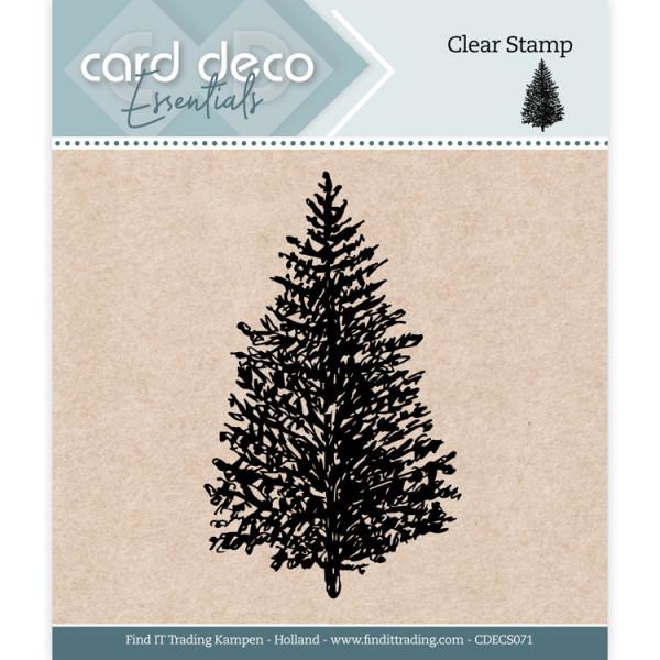 Christmas Tree / Weihnachtsbaum - Clearstamp / Stempel von Card Deco Essentials (CDECS071)