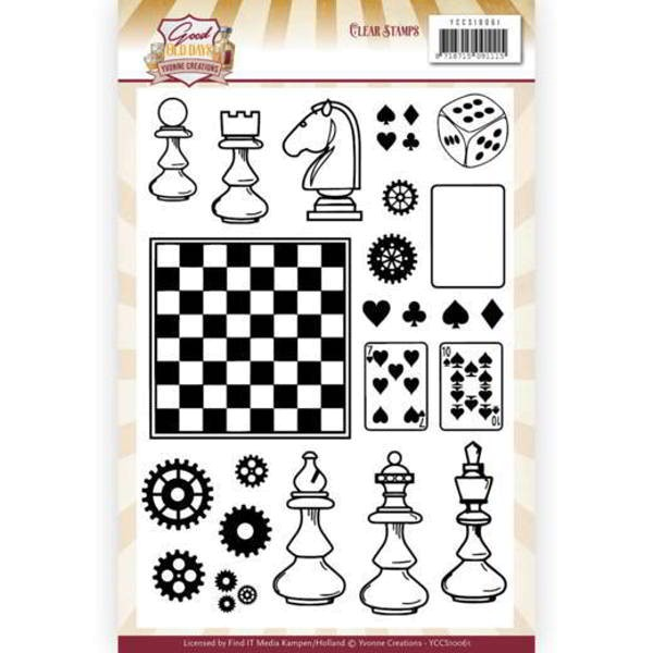 Good Old Days - Games - Stempel / Clearstamp