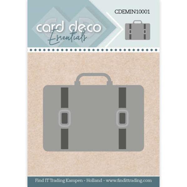 Suitcase / Koffer - Mini Dies von Card Deco (CDEMIN10001)