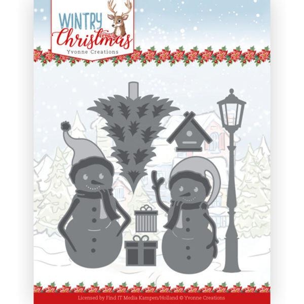 Snow Friends - Wintery Christmas Kollektion von Yvonne Creations (YCD10244)