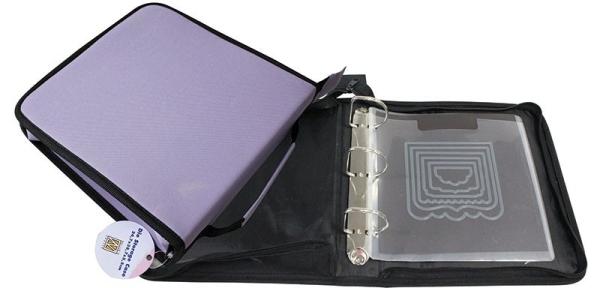 Aufbewahrungsmappe für Stanzschablonen inkl. 5 Magnetbögen