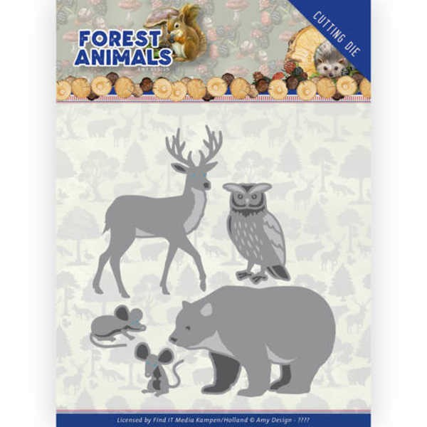 Forest Animals 2- Forest Animals Collection von Amy Design (ADD10234)