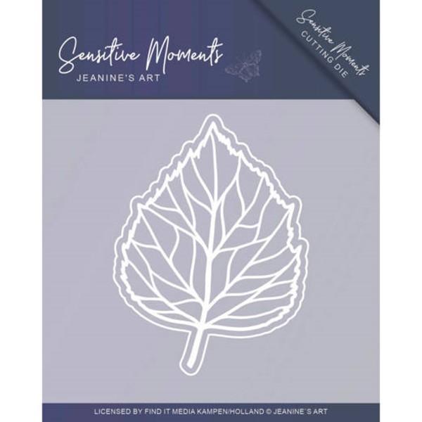 Leaf / Blatt - Sensitive Moments - Stanzschablone