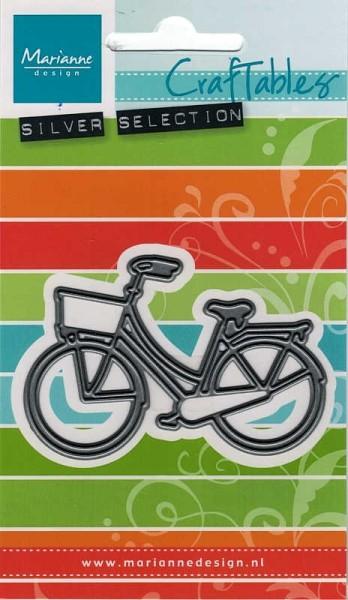 City Bike / Fahrrad - Stanzschablone