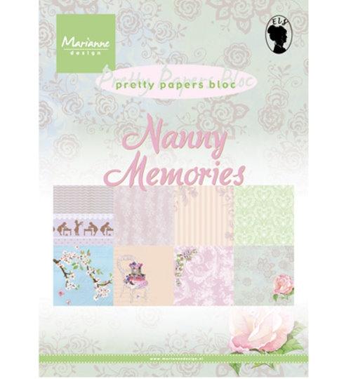 Nanny Memories - Motivpapier-Set / Scrapbook