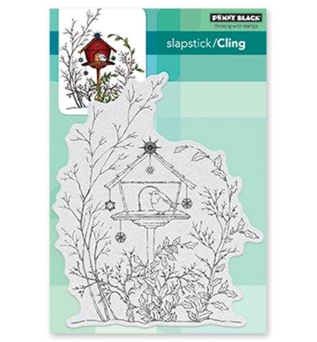Adorned Adobe - Slapstick - Cling Stamp