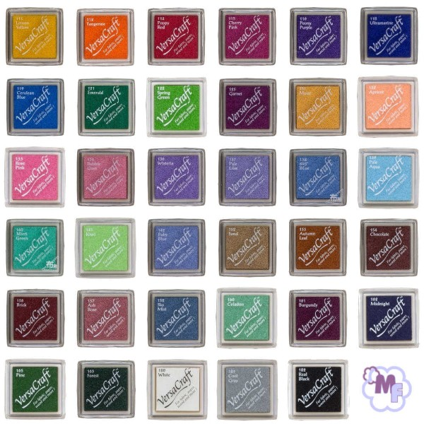 VersaCraft - Inkpad Small - 35 versch. Farben zur Auswahl