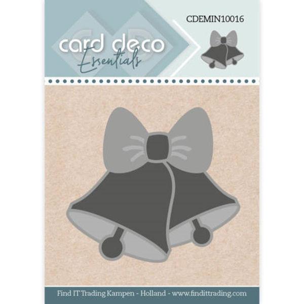 Christmas Bell / Weihnachtsglocken - Mini Dies von Card Deco (CDEMIN10016)