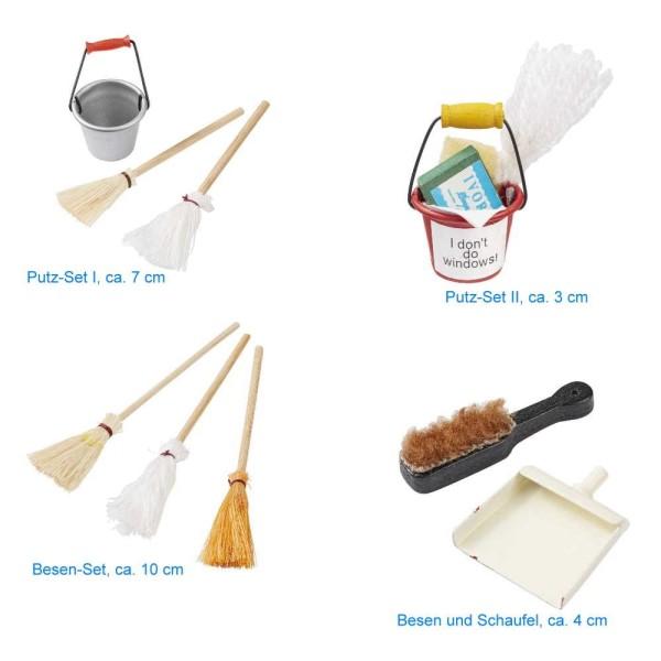 Putz- und Reinigungssets von HobbyFun (CREApop®) - Wahlweise eines von 4 versch. Sets