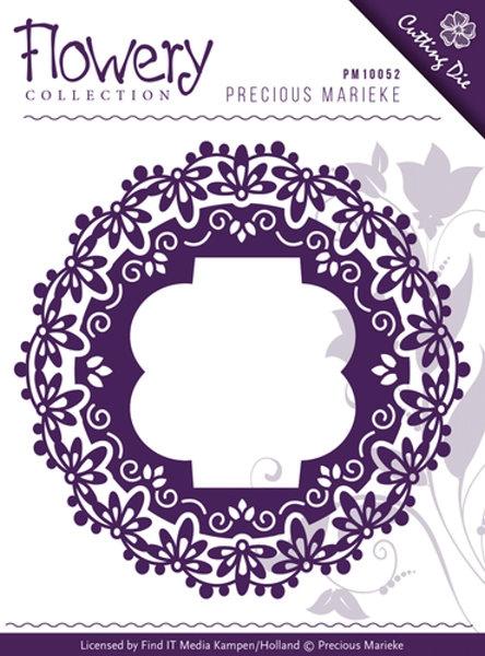 Fleur-de-Lis Frames - Stanzschablone