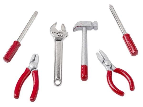 Mini-Werkzeug - 6-teilig von HobbyFun