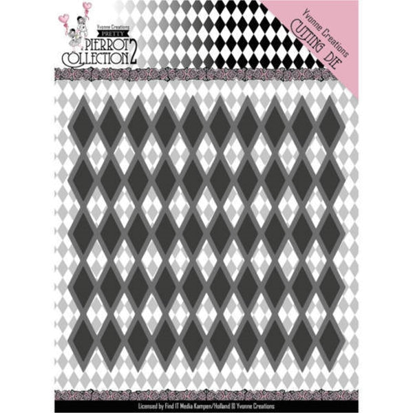 Diamond Pattern - Stanzschablone