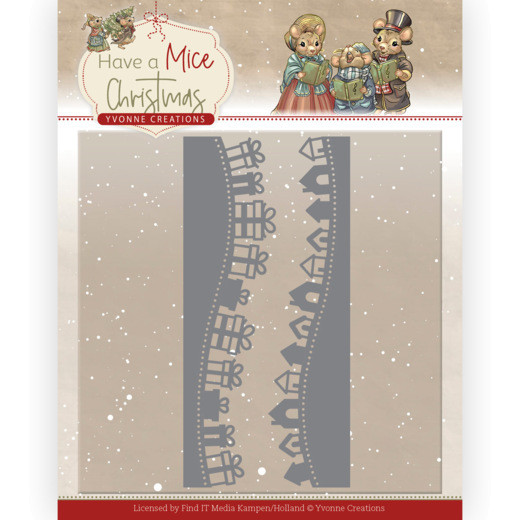 Christmas Mouse Borders - Have a Mice Christmas Kollektion von Yvonne Creations (YCD10250)