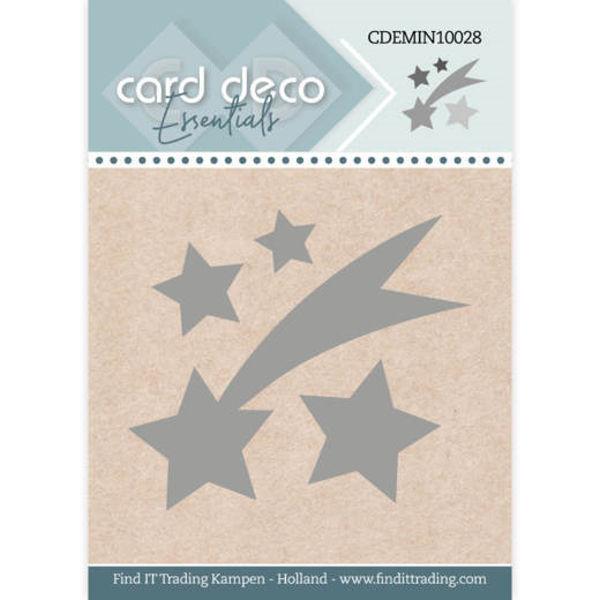 Falling Star / Sternschnuppe - Mini Dies von Card Deco (CDEMIN10028)
